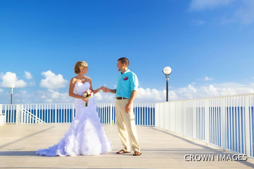 resort wedding on st thomas photos