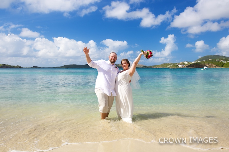 wedding photos st thomas virgin islands