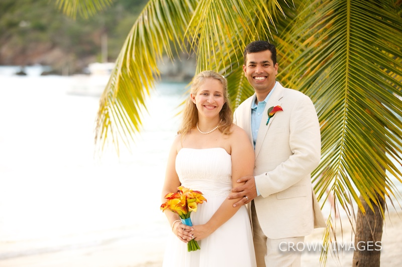st thomas sunset wedding photos
