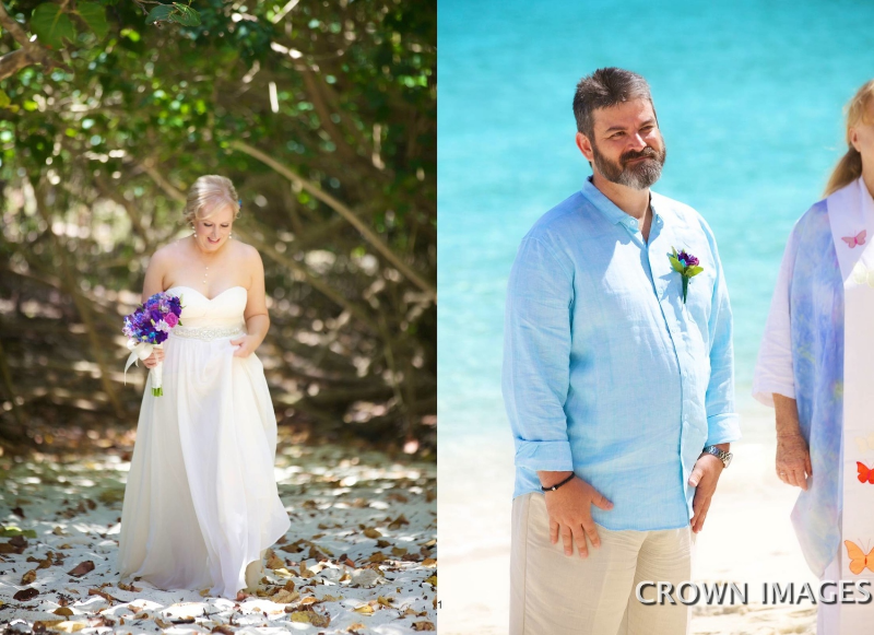 wedding photos on st john virgin islands
