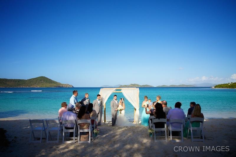 beach ceremony virgin islands photos