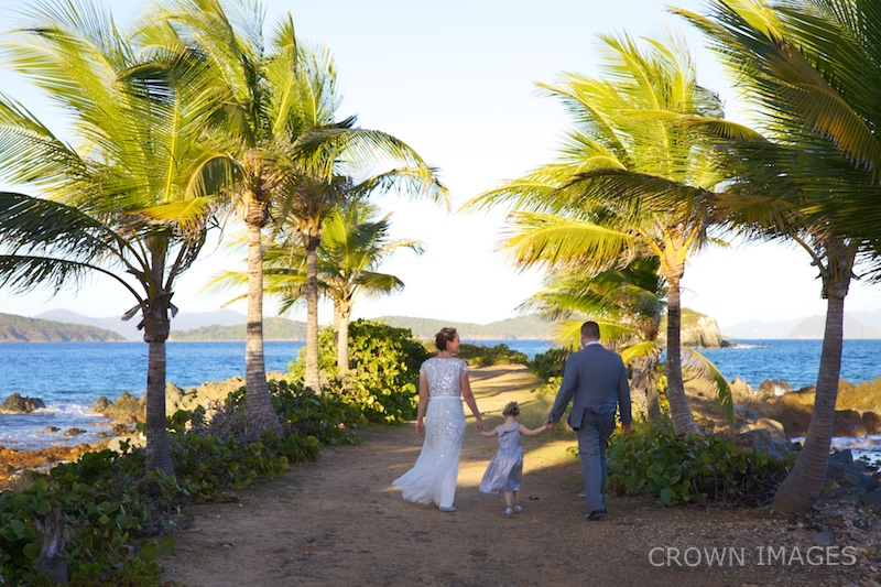 wedding at sapphire beach st thomas