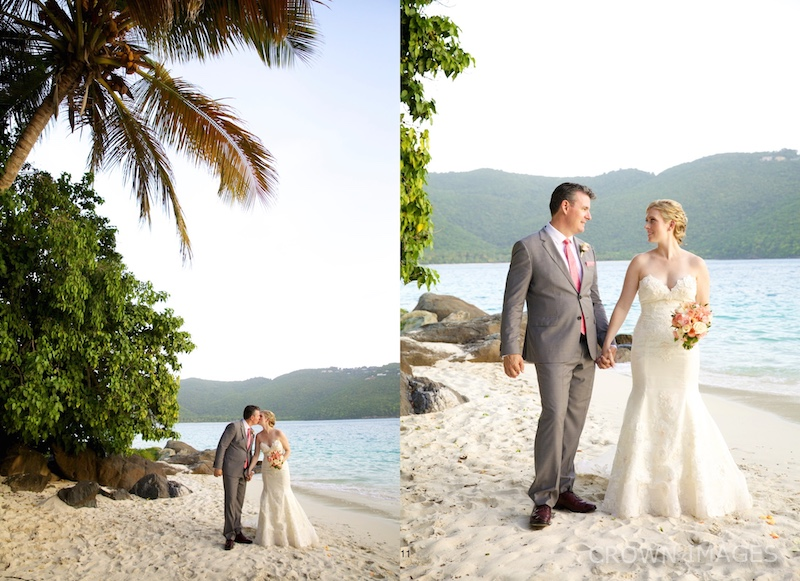 sunset wedding st thomas