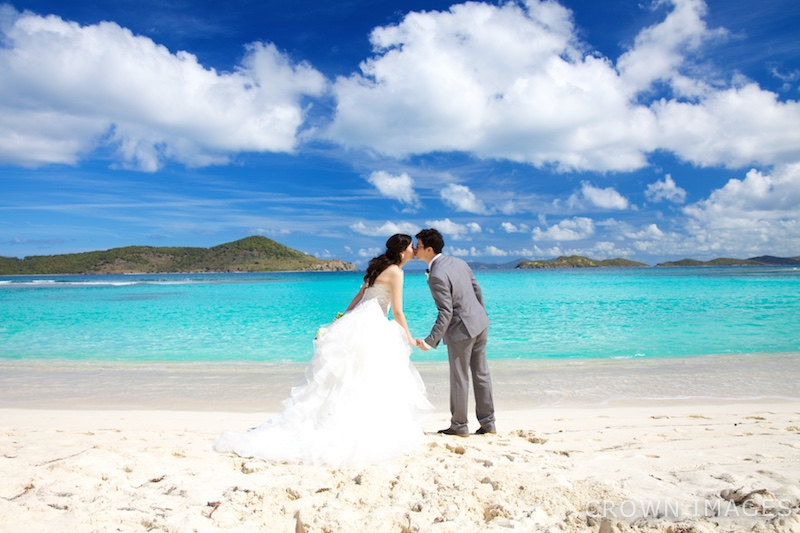 lindquist beach st thomas wedding locations crown images