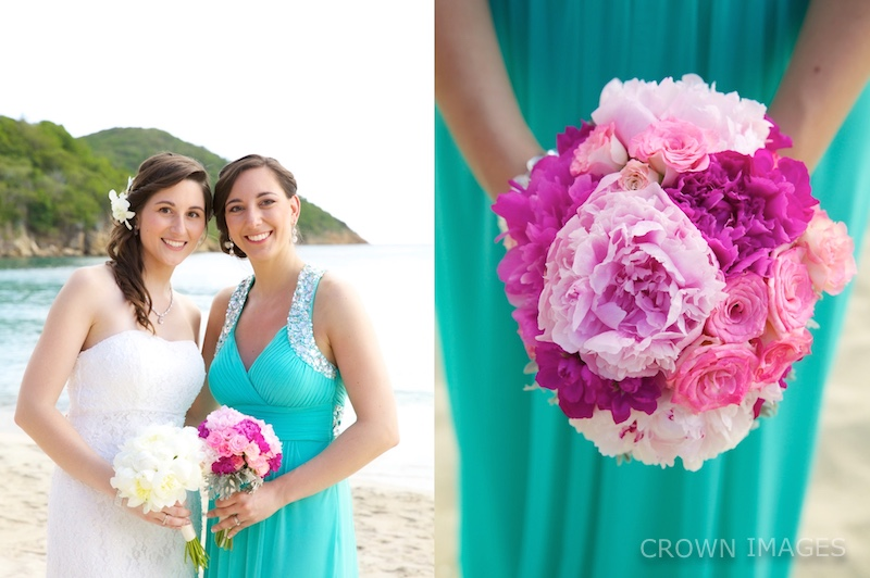 wedding flowers st thomas photo by crown images