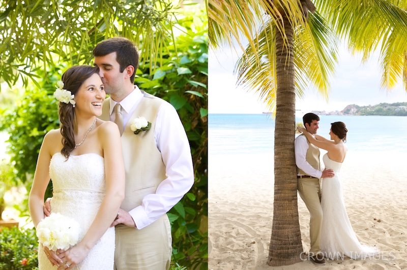wedding photos virgin islands by crown images