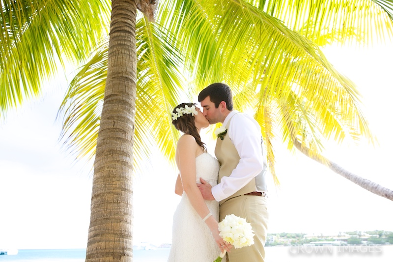 wedding at emerald beach st thomas photos by crown images