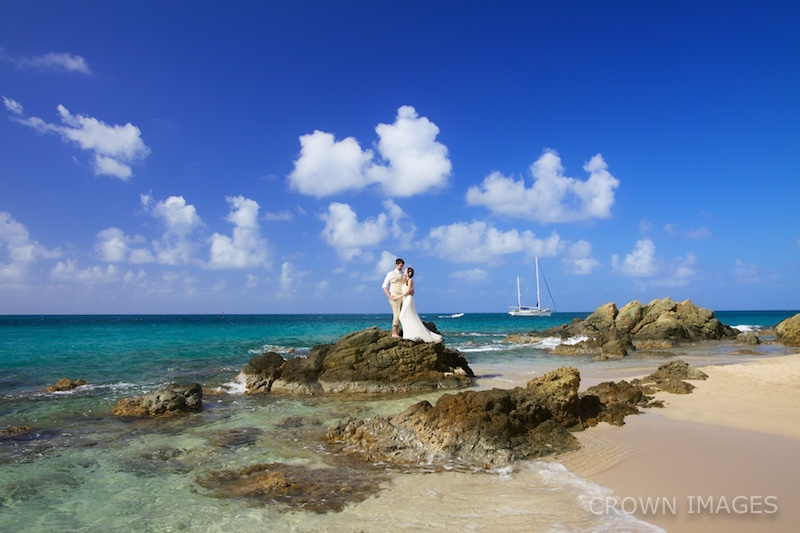 wedding photos virgin islands crown images