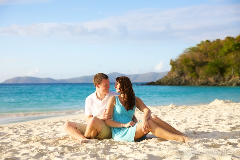honeymoon photos on st john in the virgin islands