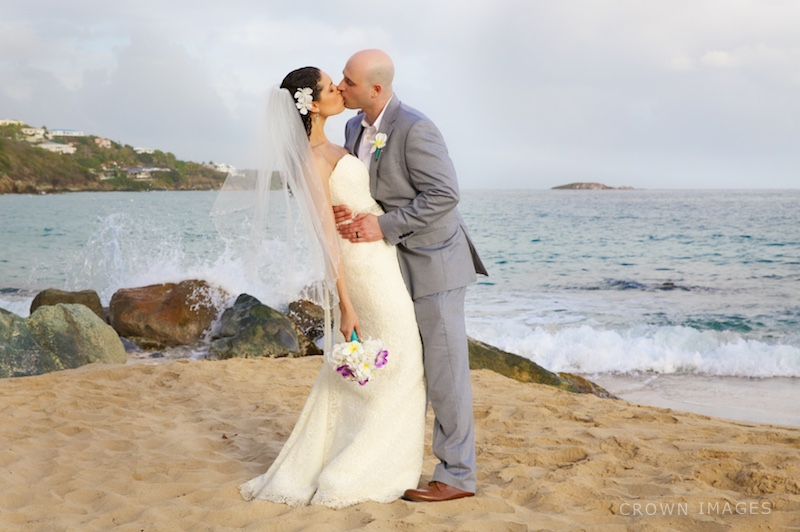 morning star beach st thomas wedding photos by crown images