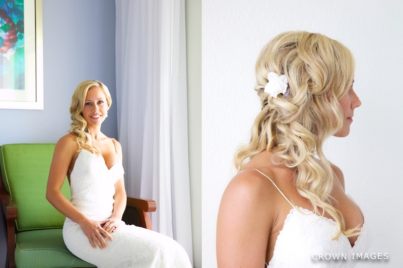 wedding hairstyles st thomas photo by crown images