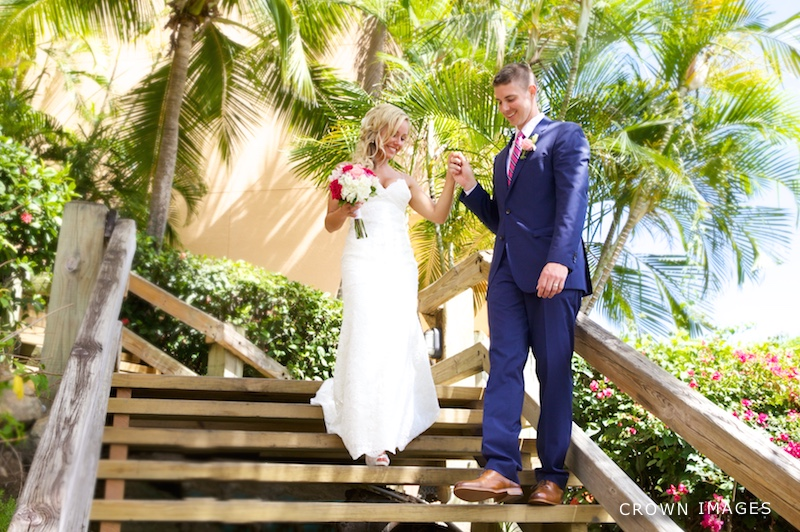wedding photographer virgin islands crown images