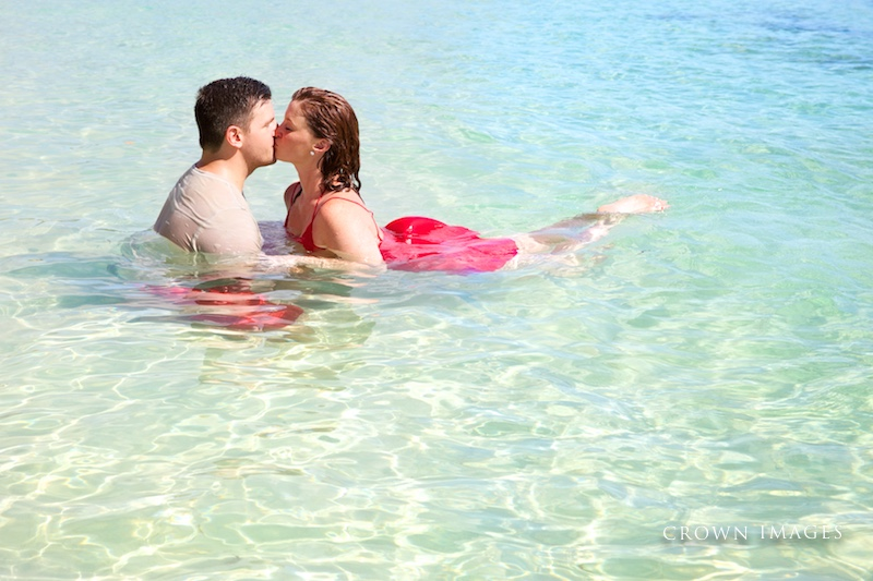 engagement photos in the virgin islands photo by crown images