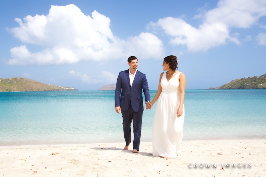 st thomas wedding photos on the beach