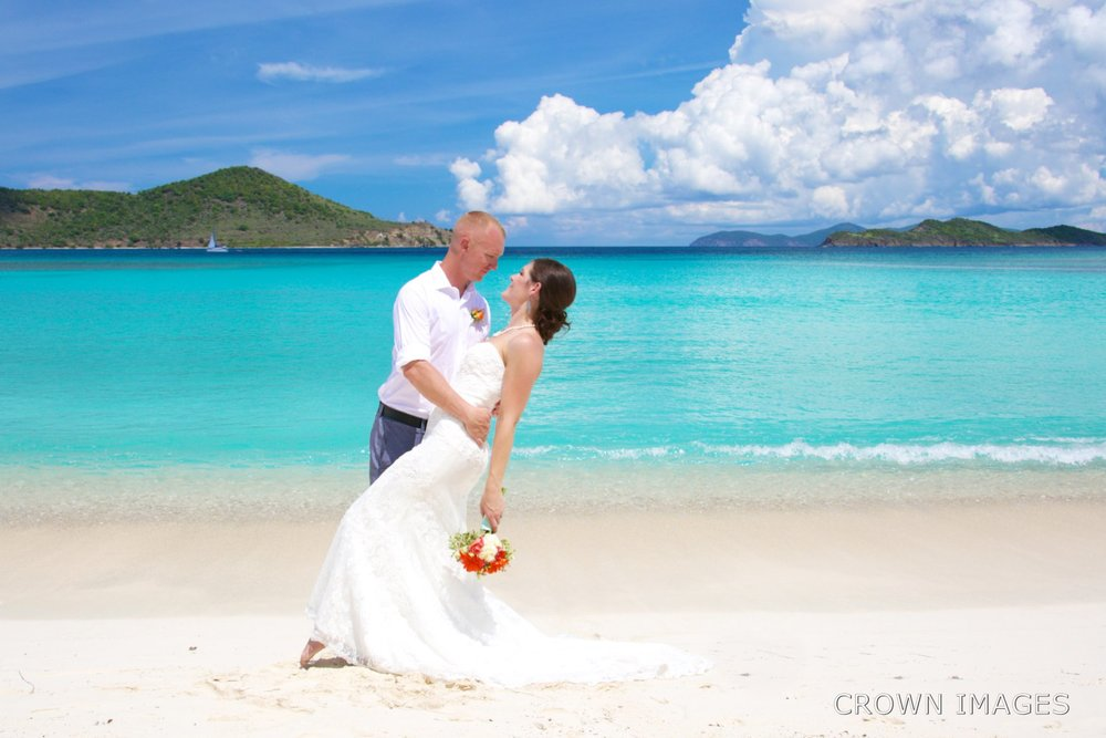 st thomas beach wedding photos by crown images