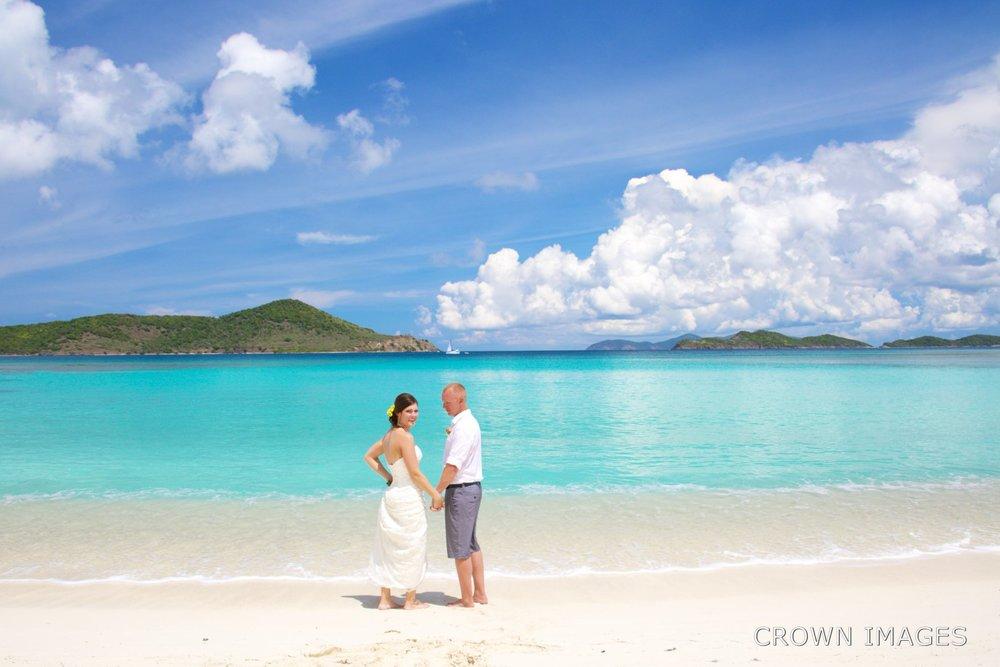 St thomas wedding lindquist beach crown images for St thomas honeymoon beach
