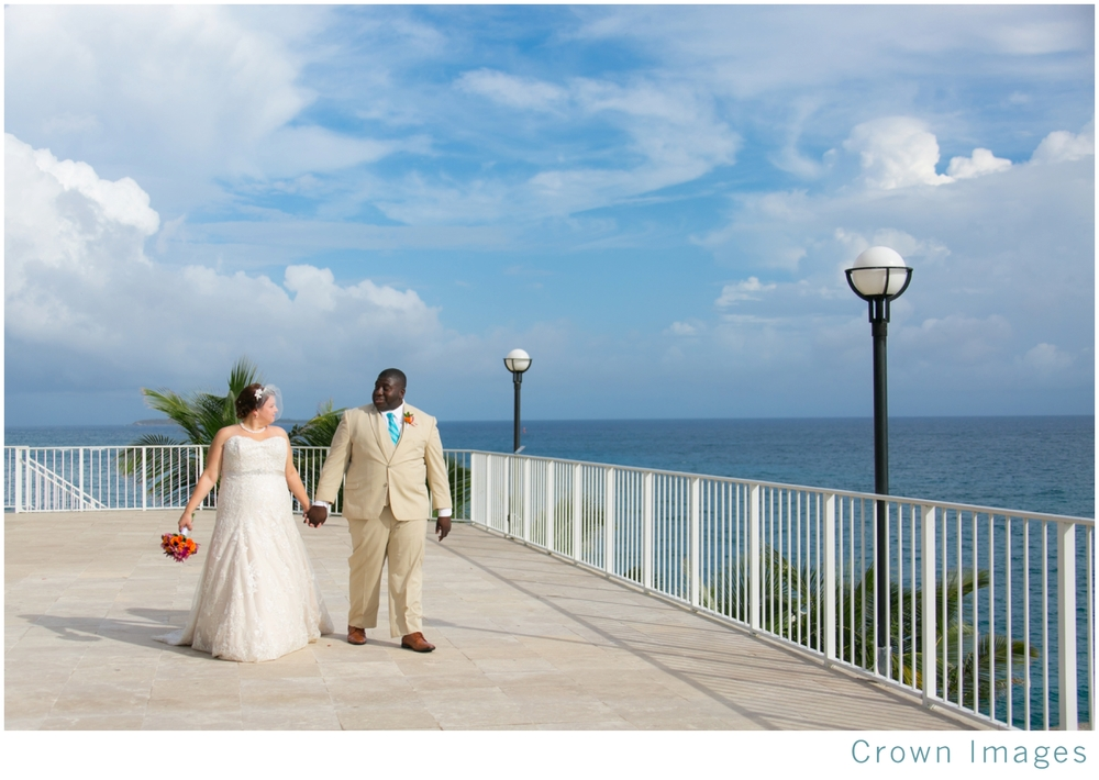 wedding photos at the marriott on st thomas