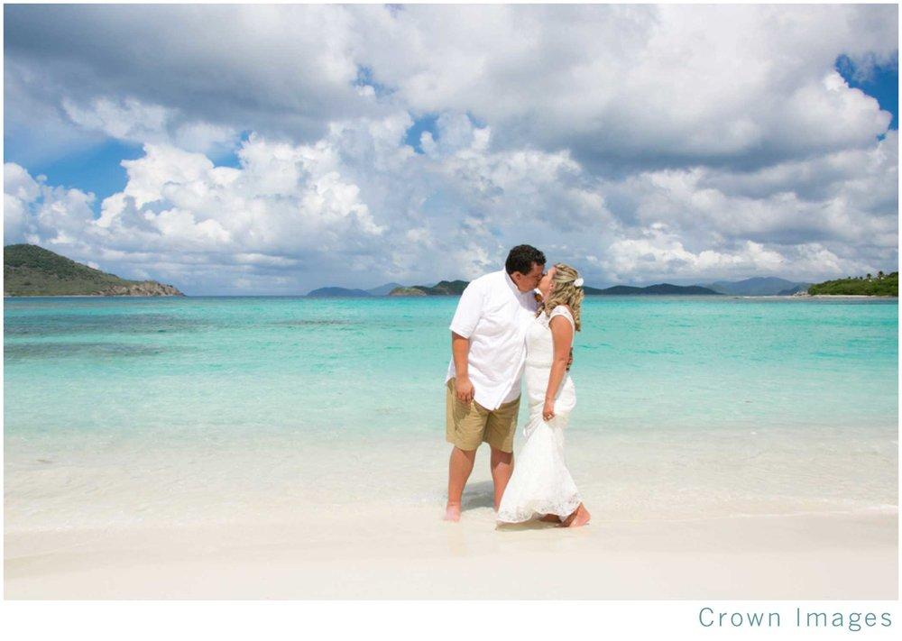 best beach on st thomas for a beach wedding