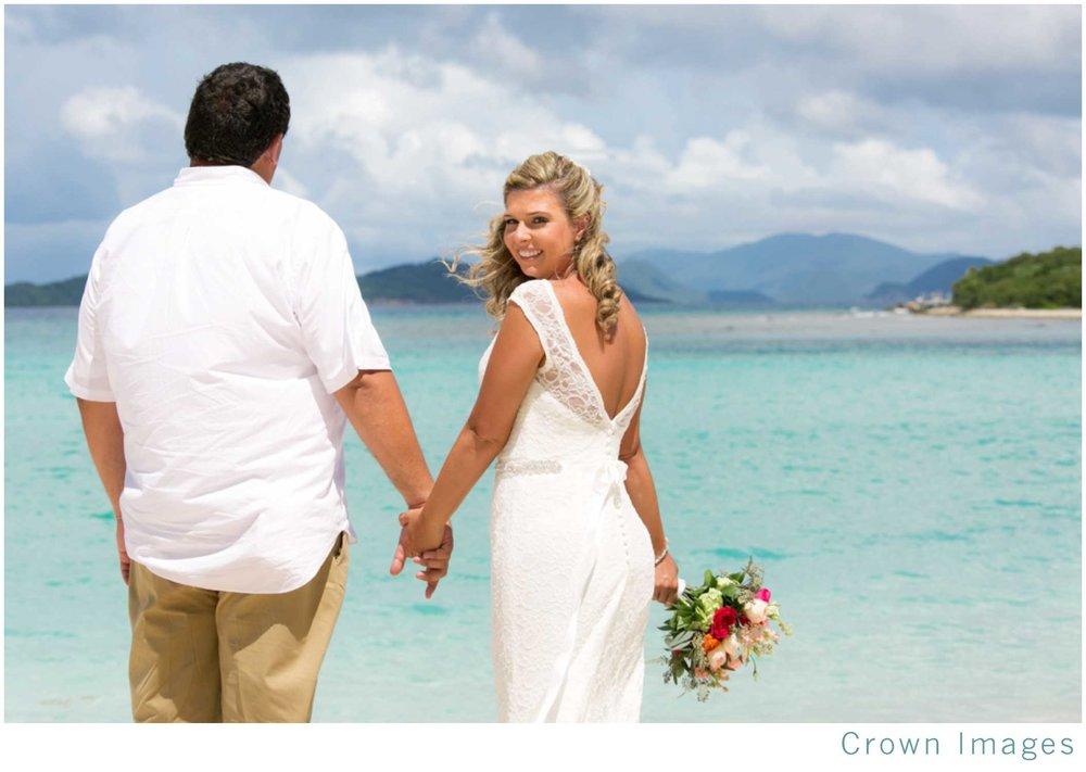 lindquist beach wedding st thomas