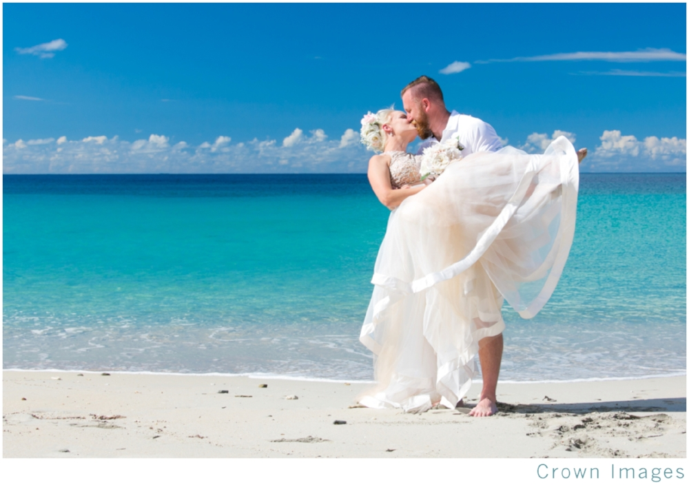 beach wedding st thomas