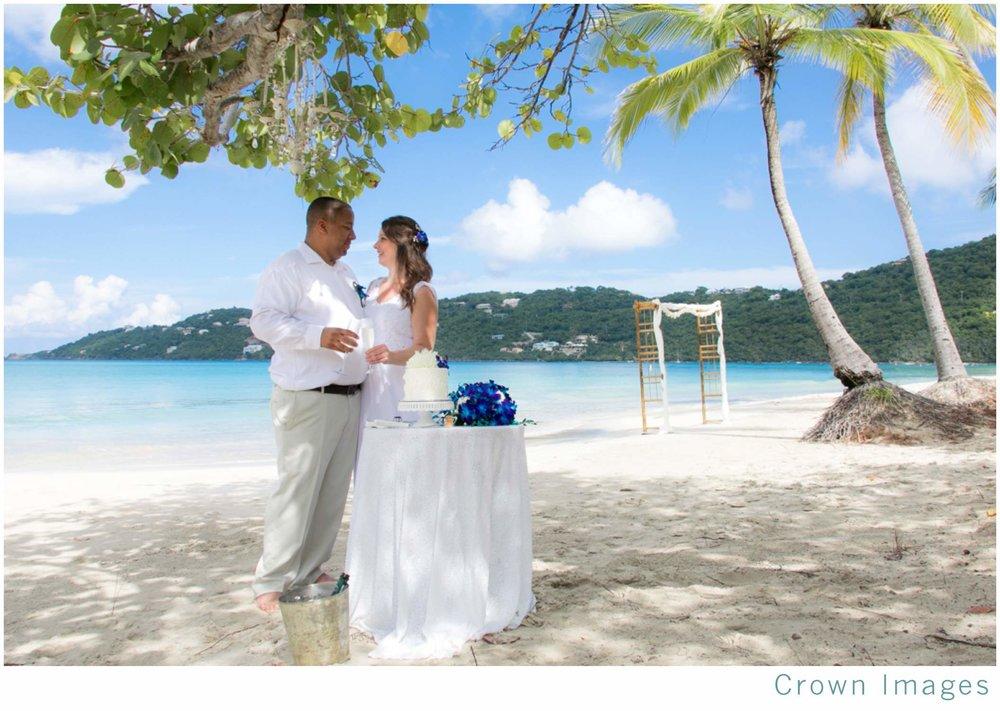 beach wedding st thomas