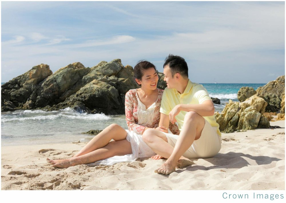 st thomas engagement session