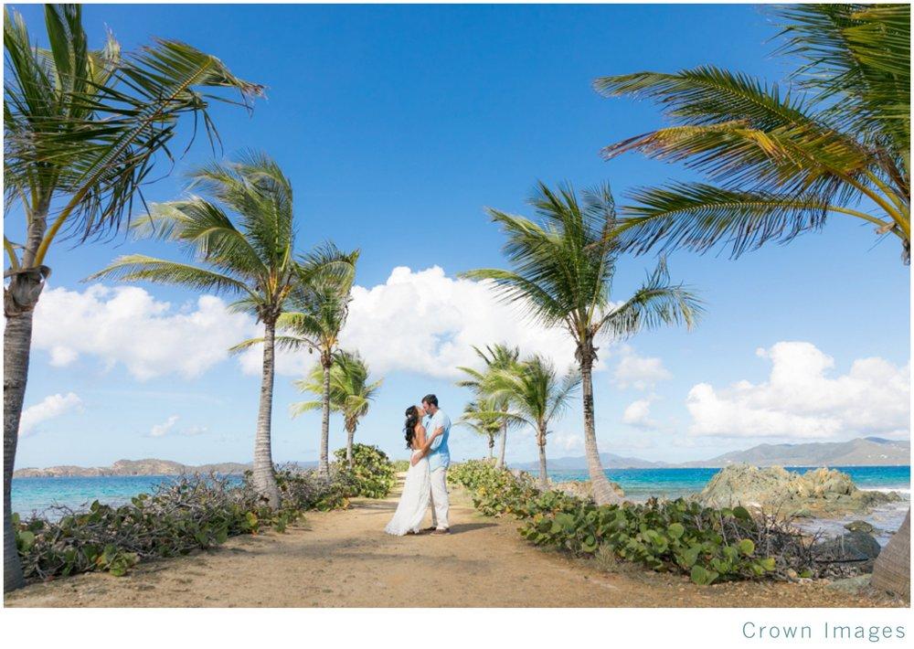 sapphire beach wedding photos on st thomas