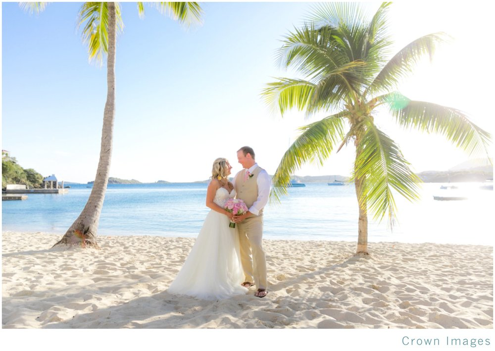 secret harbour beach wedding st thomas