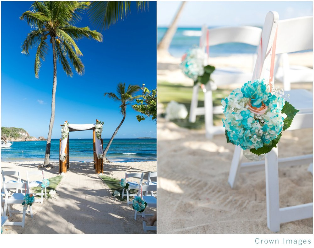 bolongo bay beach wedding