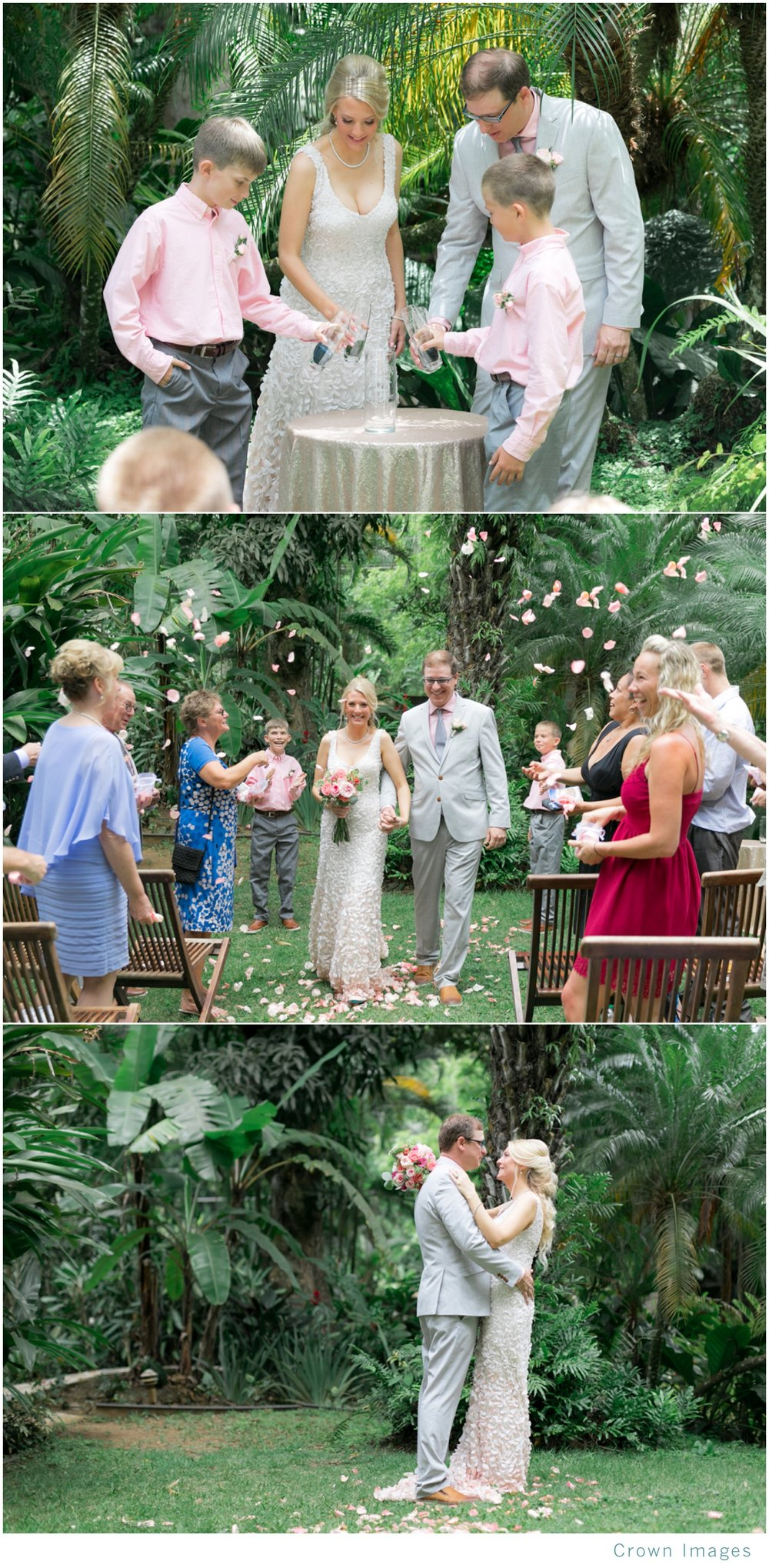 botanical garden wedding on st thomas