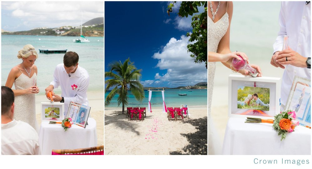 sand ceremony on st thomas