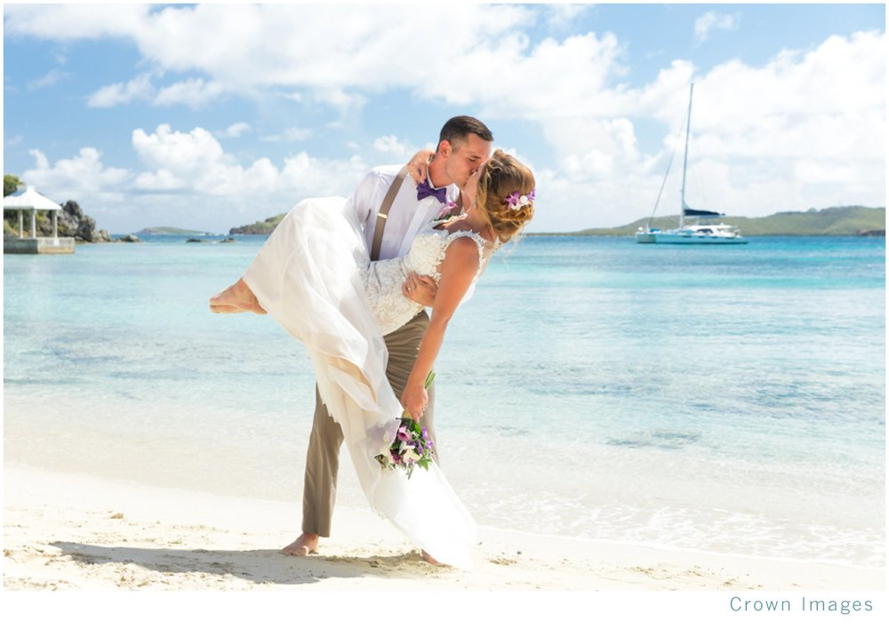 virgin islands bride and groom photos