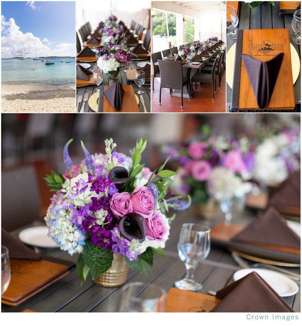 wedding inspiration for a wedding in the virgin islands