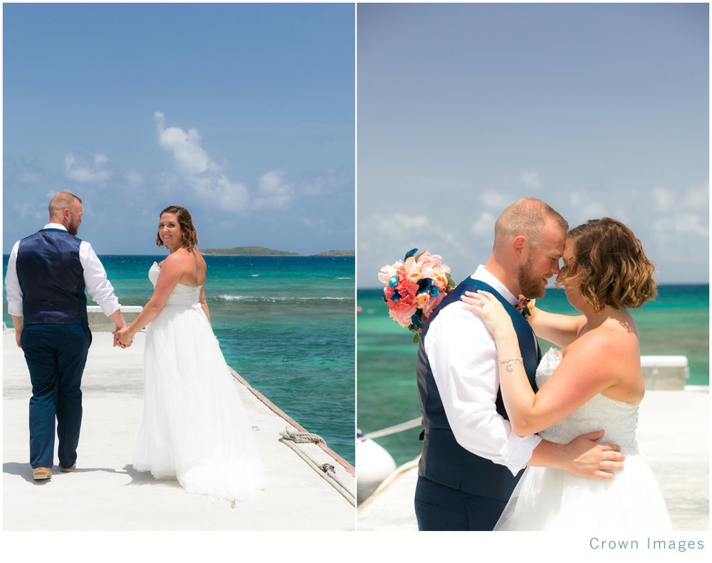 Bolongo Bay Beach Wedding: Courtney and Tyler — CROWN IMAGES