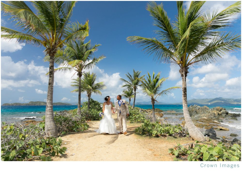 pretty klip point wedding sapphire beach