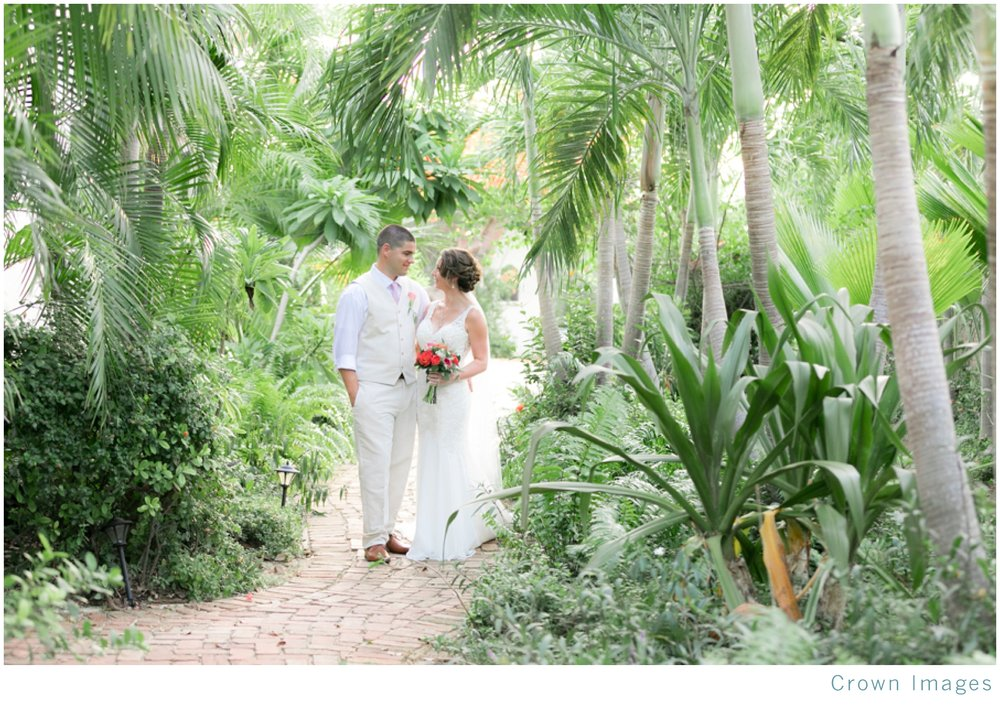 tropical wedding on st thomas