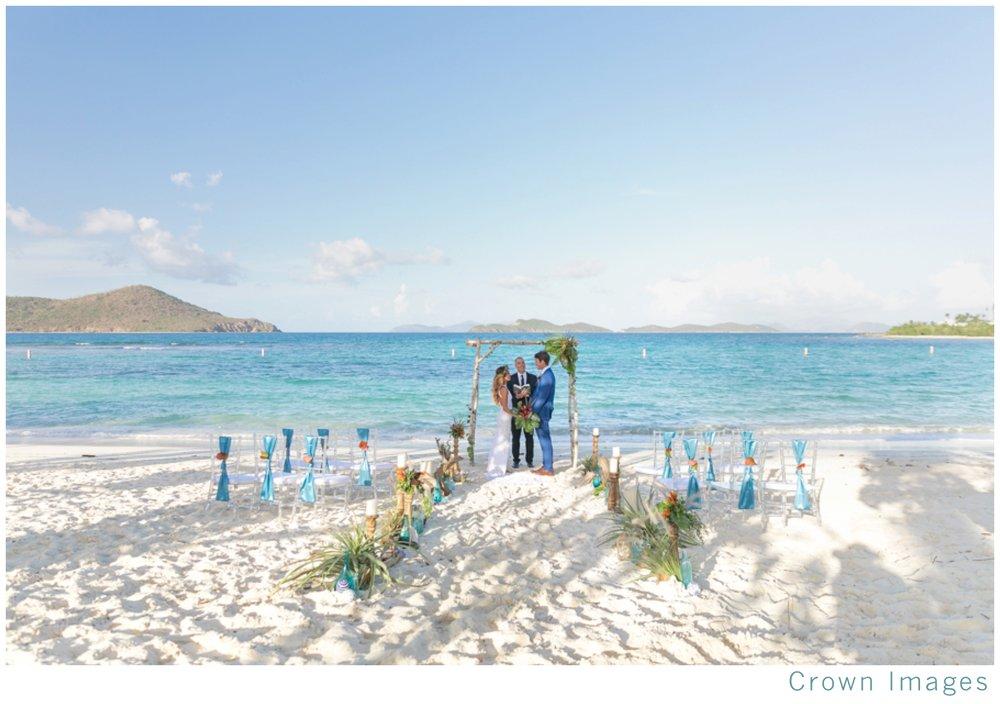 lindquist beach wedding photos st thomas
