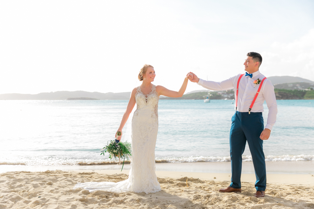 first dance on the beach