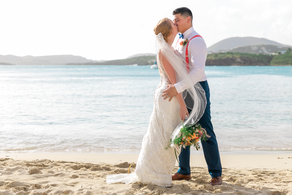 secret harbour beach wedding photos