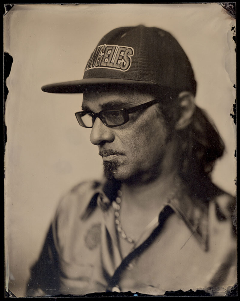 Photograph : Ambrotype by  Daniel Carrillo
