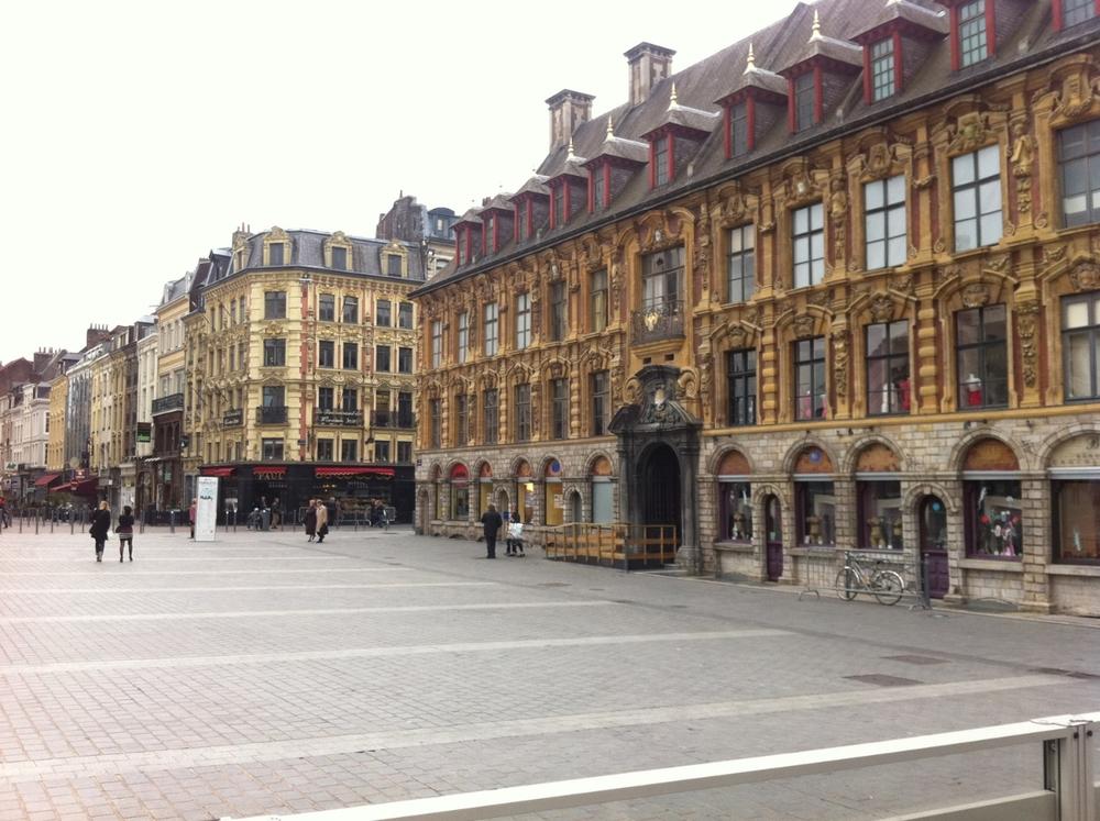 Le Grande Place, Lille, France