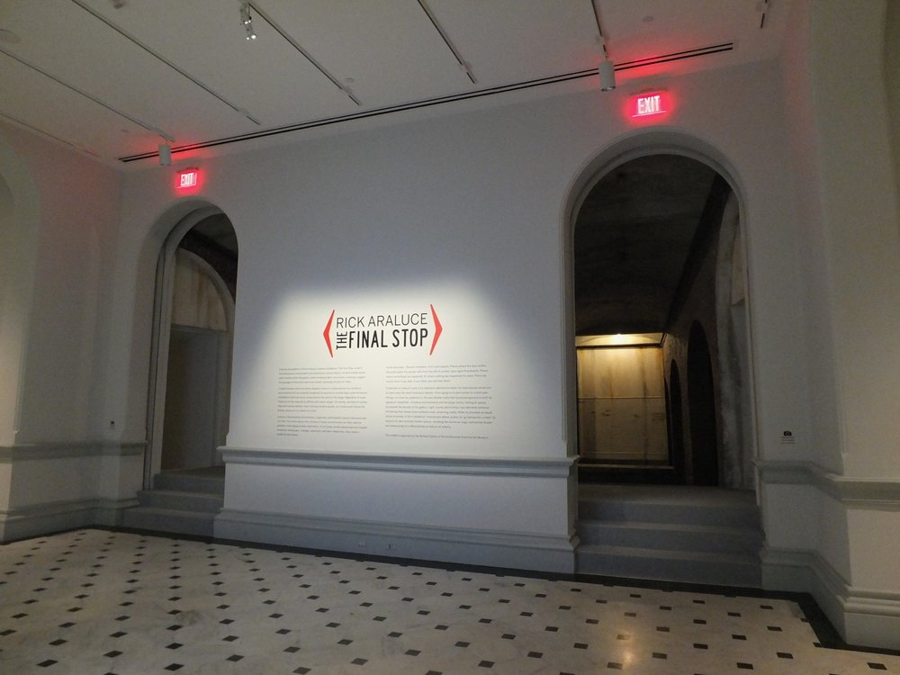 2. Entrance to the exhibit.