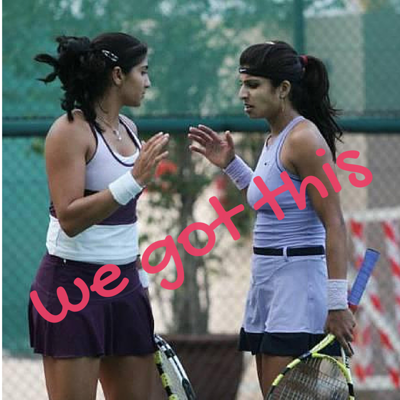 uberoi sisters tennis
