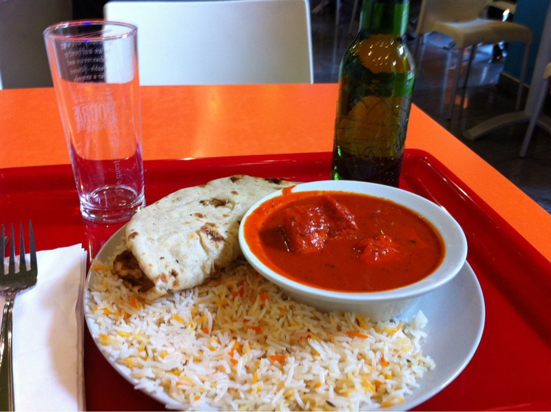 Indian food in Budapest