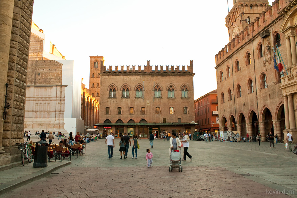 Piazza in Bologna