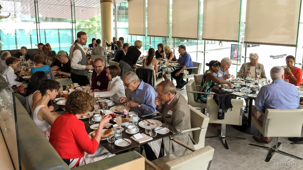 Private brunch at Lincoln Center