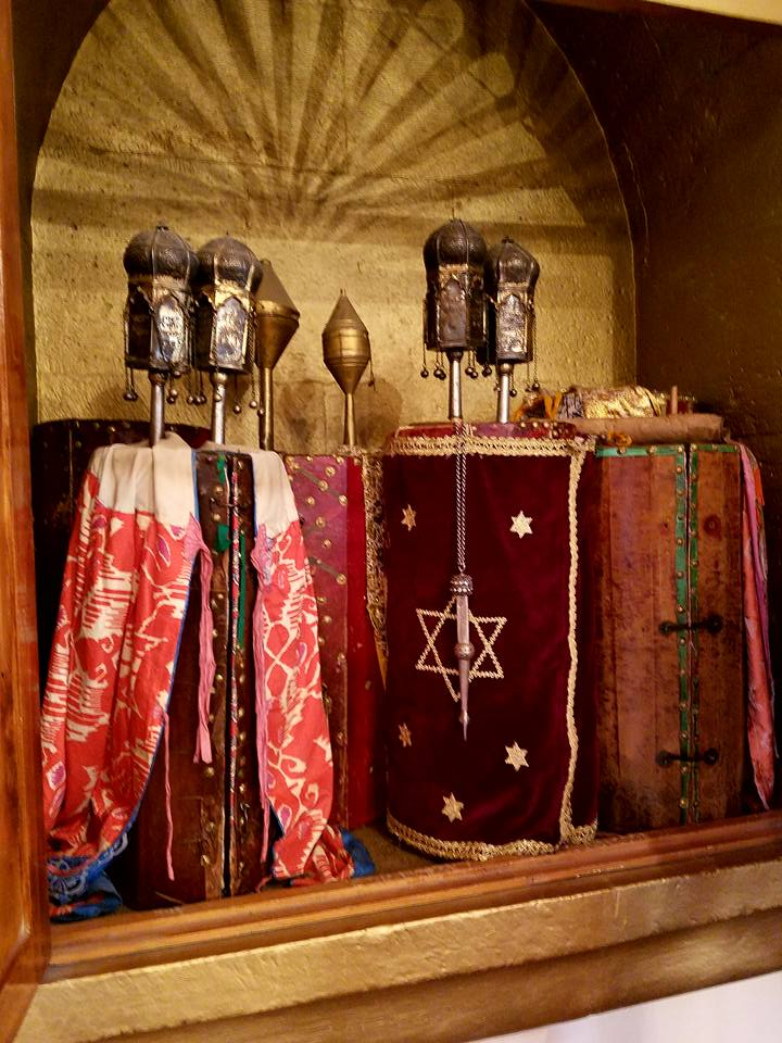 Georgia: 500 year old Torah scrolls