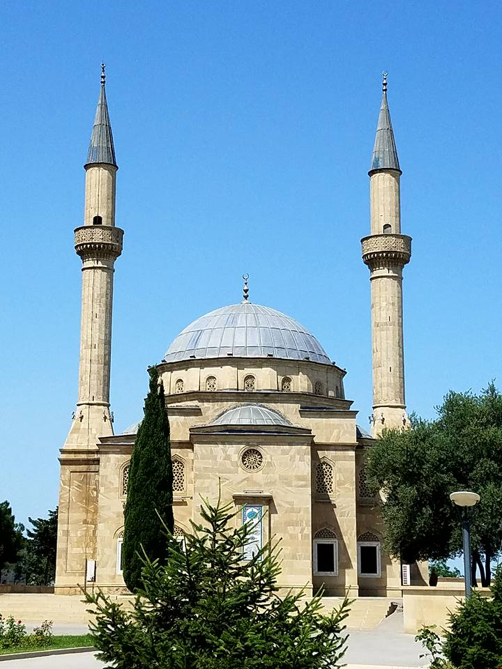 Azerbaijan: Mosque in Baku