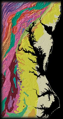The Fall Line - courtesy USGS