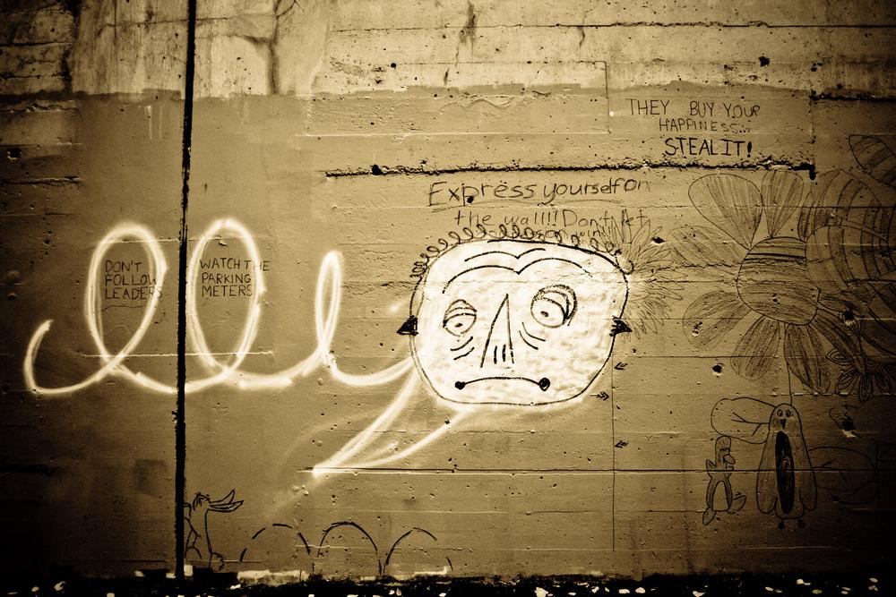 Graffity Sad Face